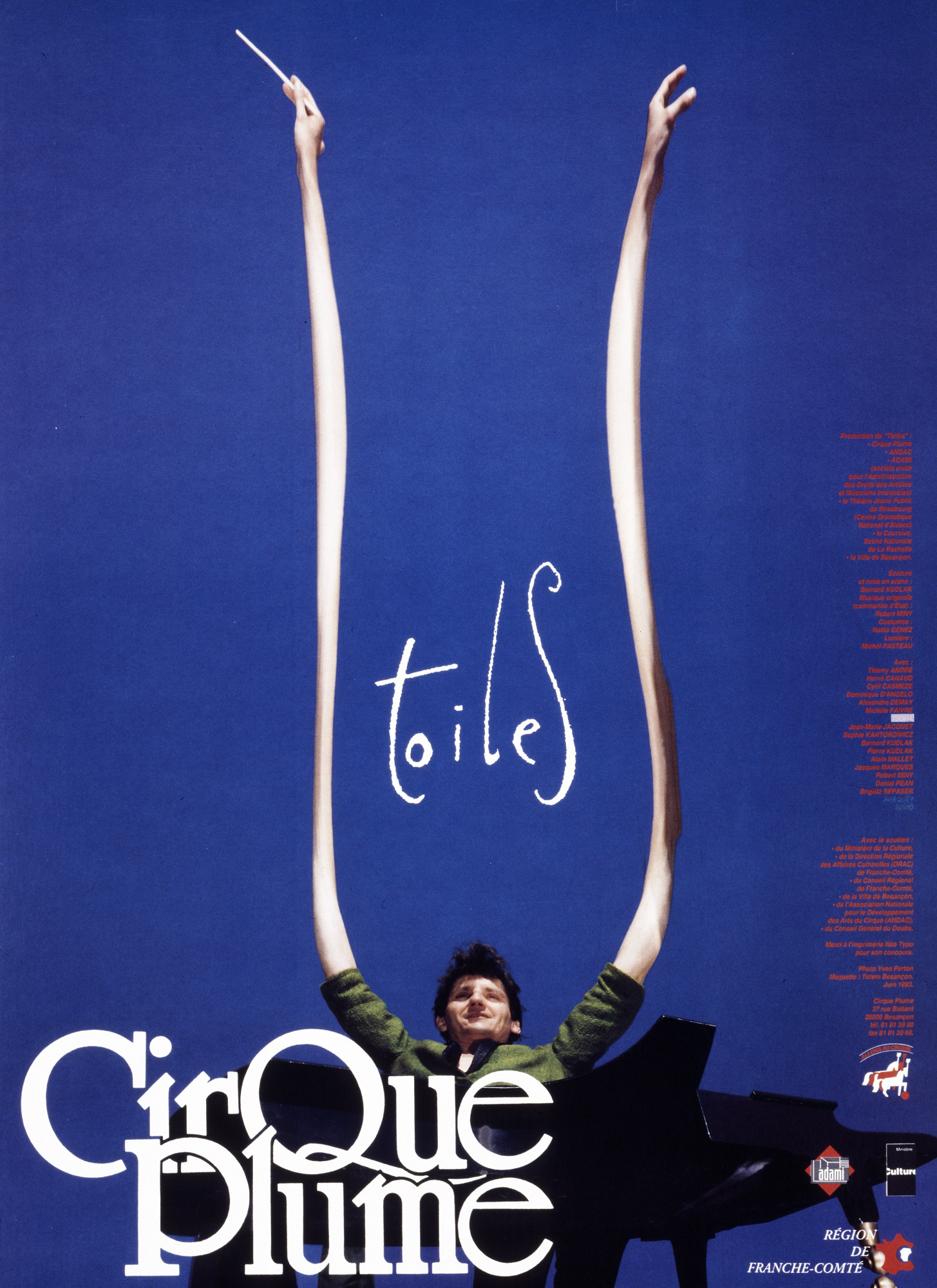 Poster of the show Toiles
