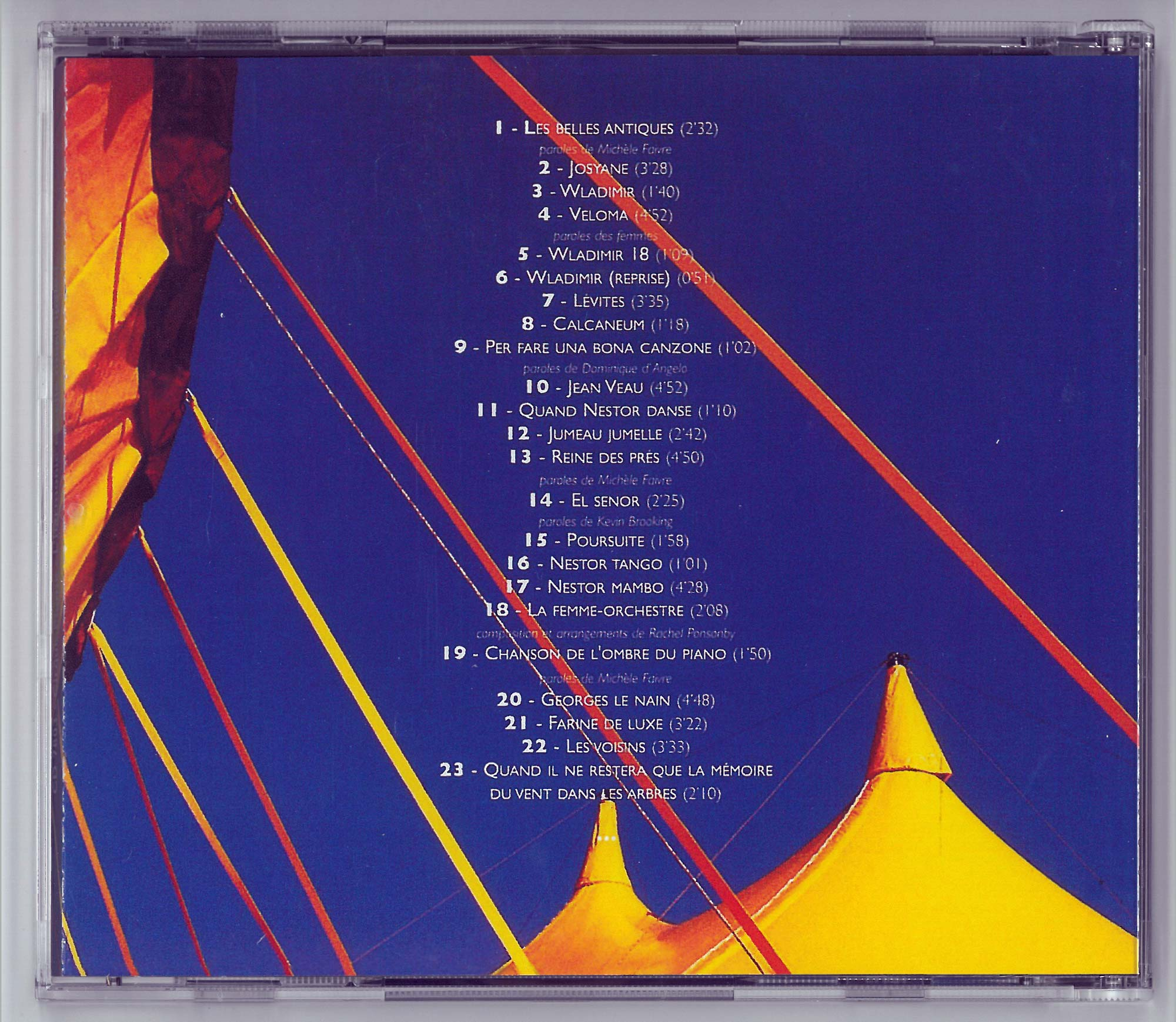 Back cover - CD L'harmonie est-elle municipale ?