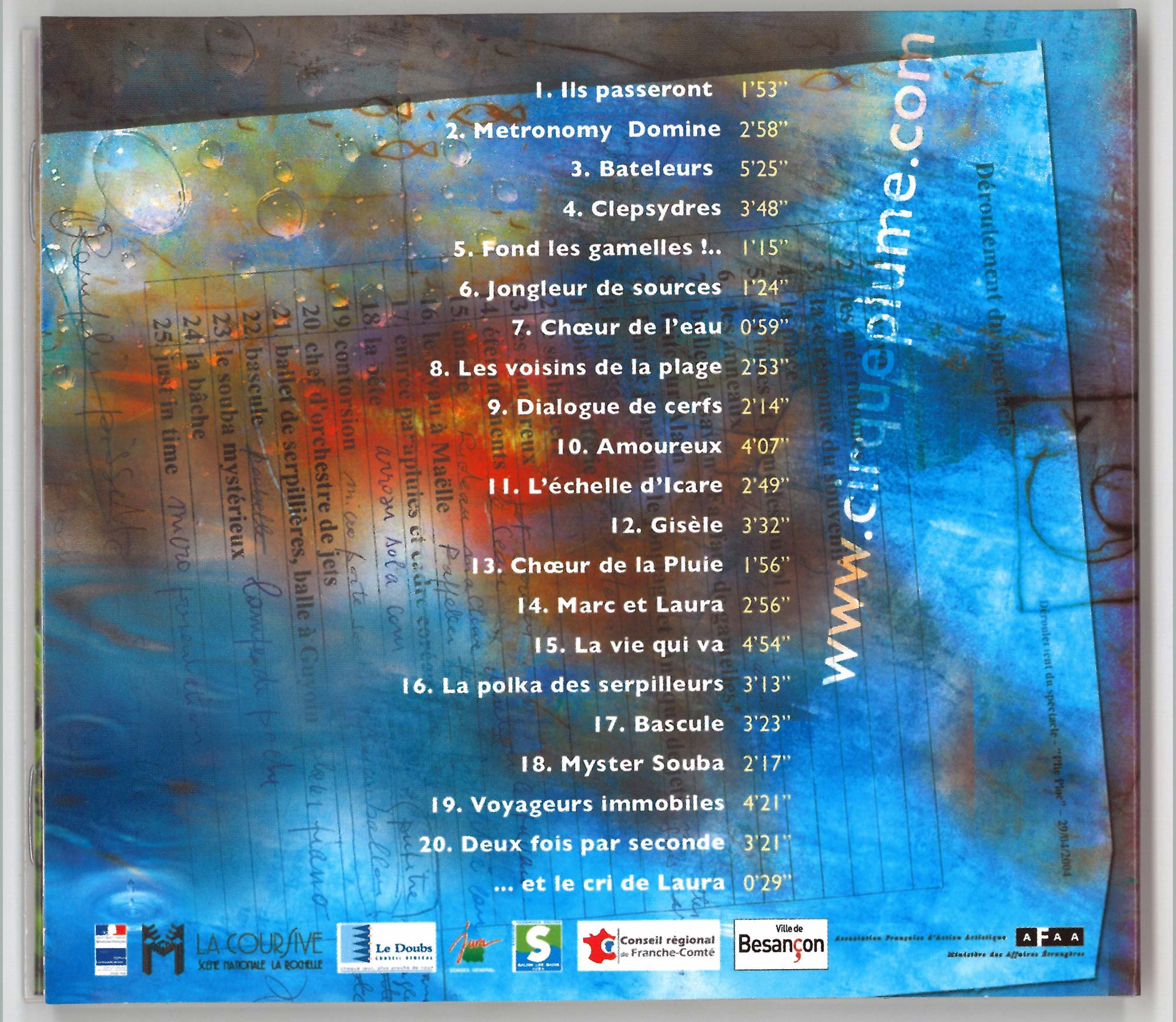 Back cover - CD Plic Ploc