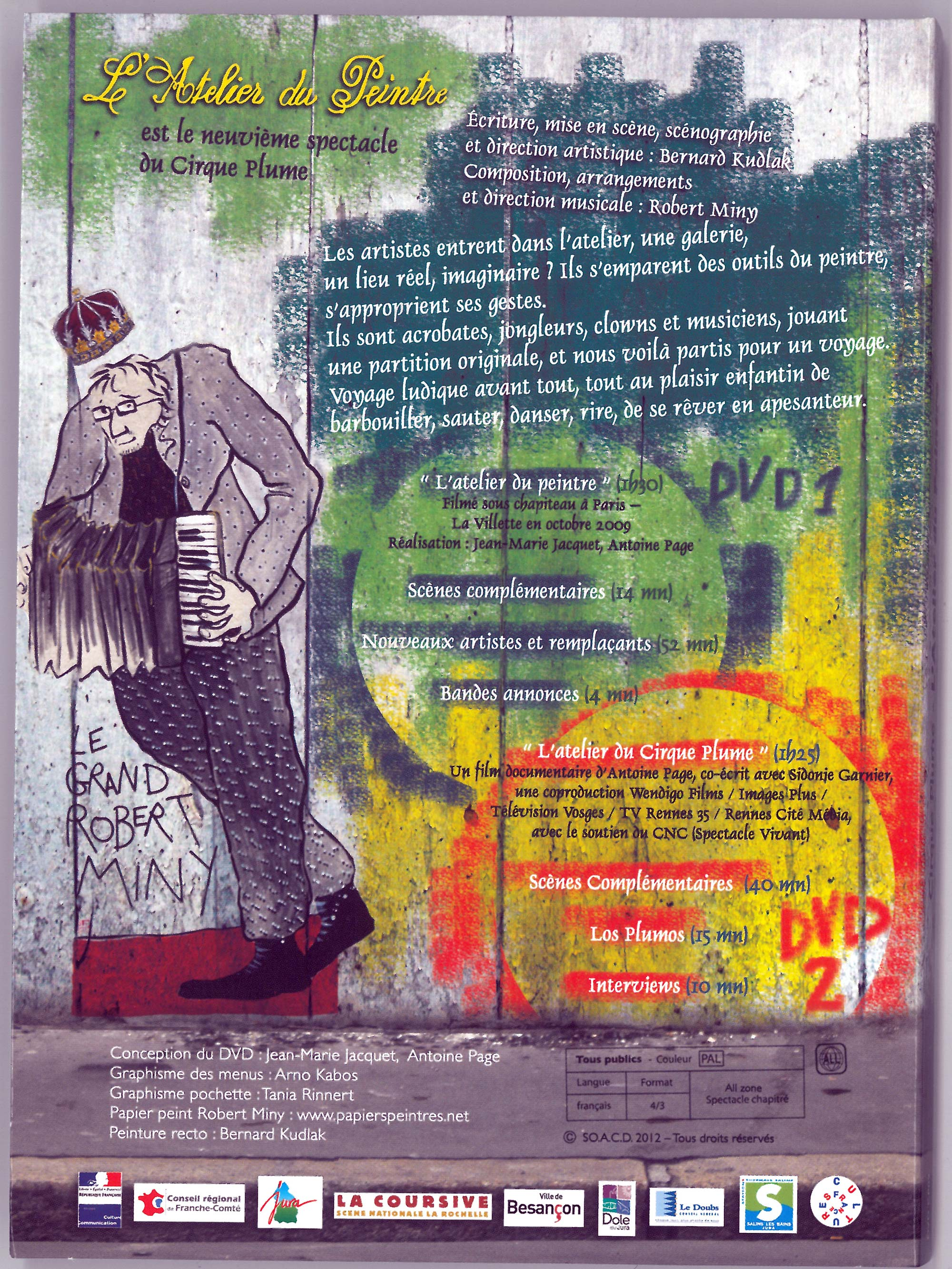 Back cover - DVD n°9 L'atelier du peintre