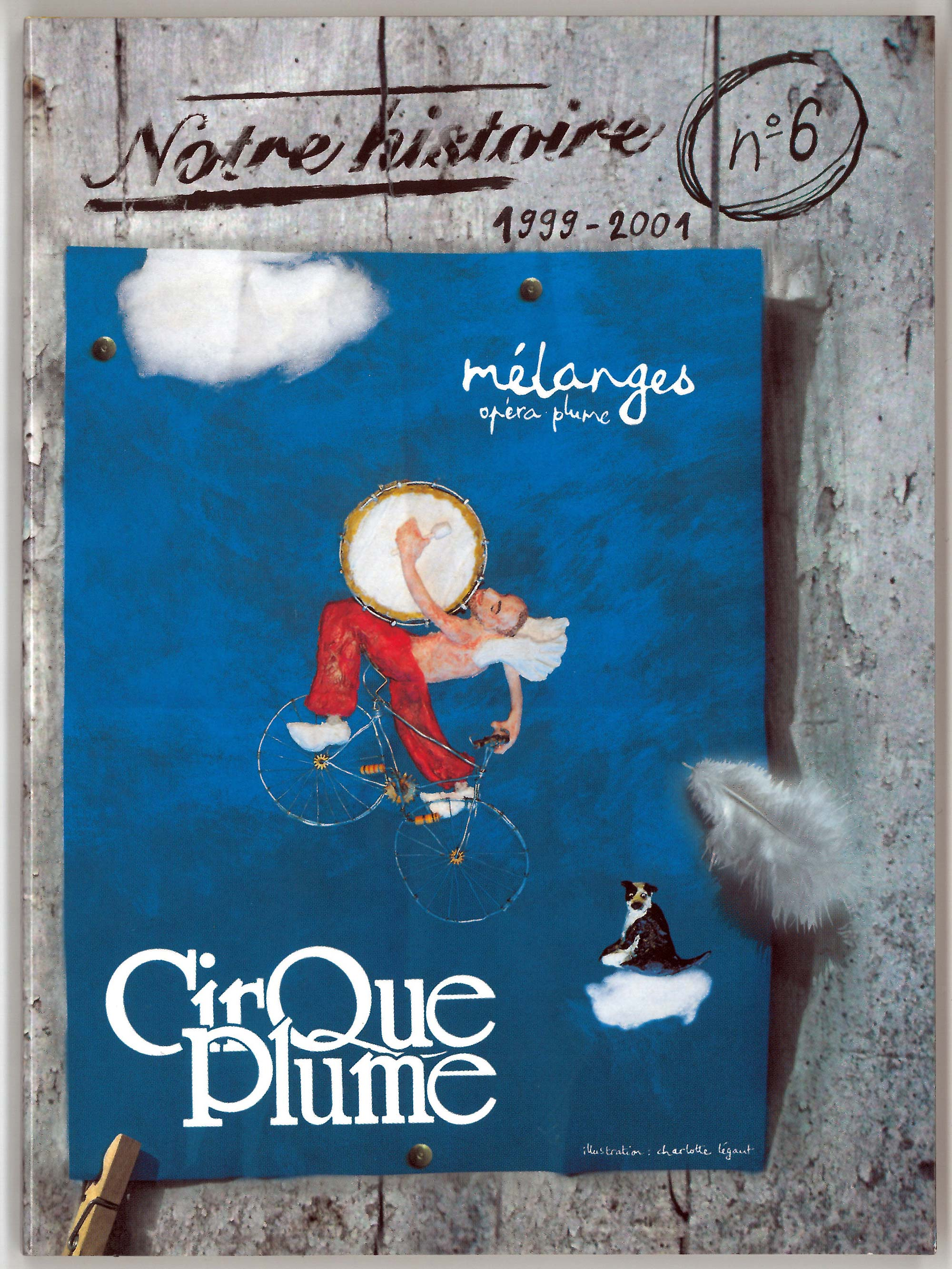 Front cover - DVD n°6 Mélange (opéra plume)