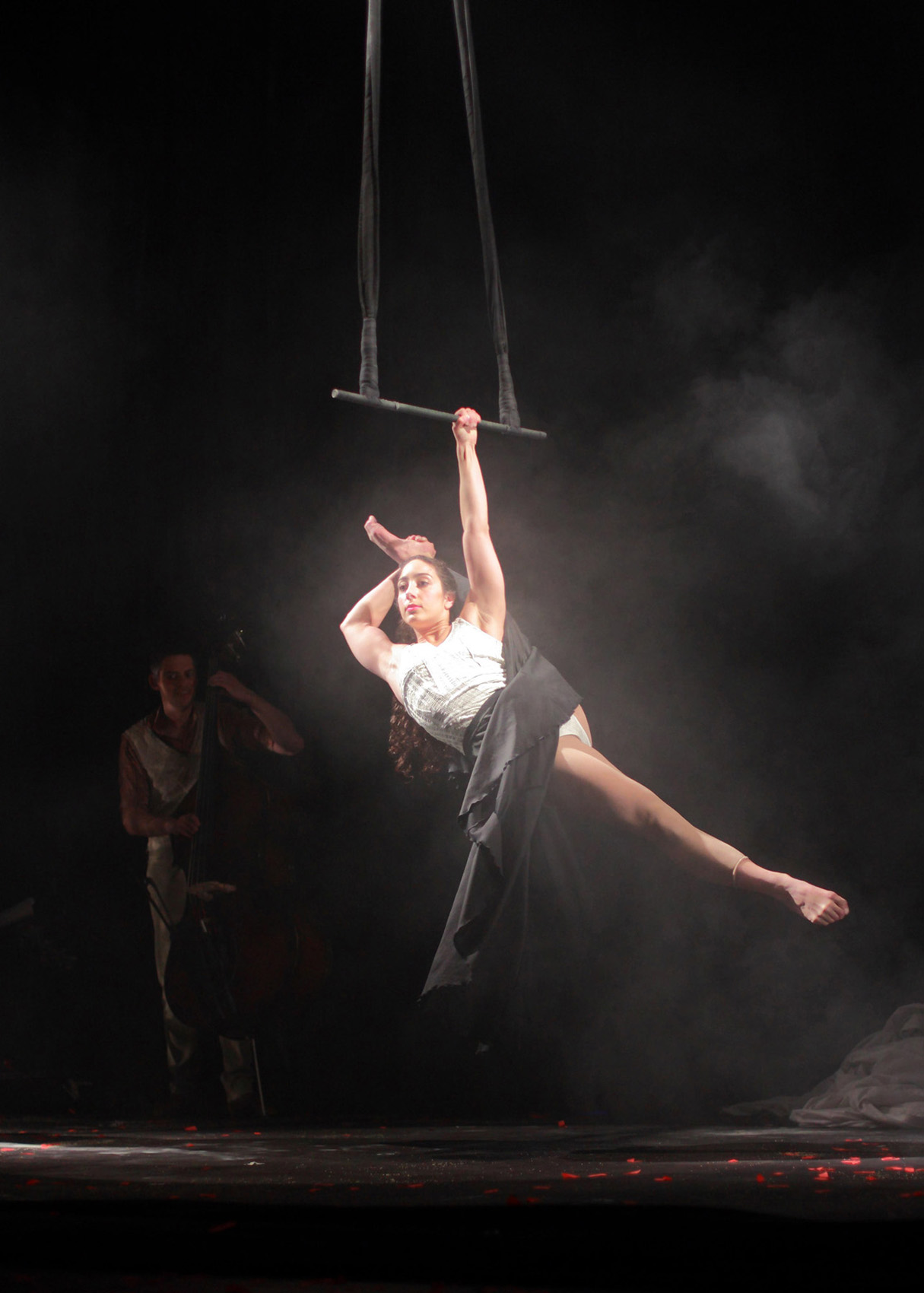 "21.Photo du spectacle - ""L'atelier du peintre"" Henri Brauner, Cirque Plume 2011"