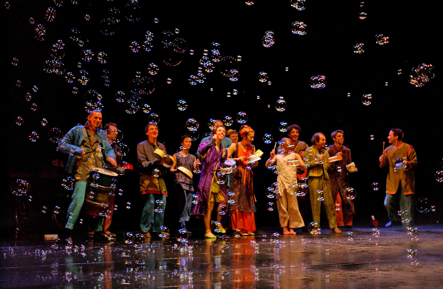 "08.Photo du spectacle - ""Plic Ploc"" Jacques Peeters, Cirque Plume 2004"