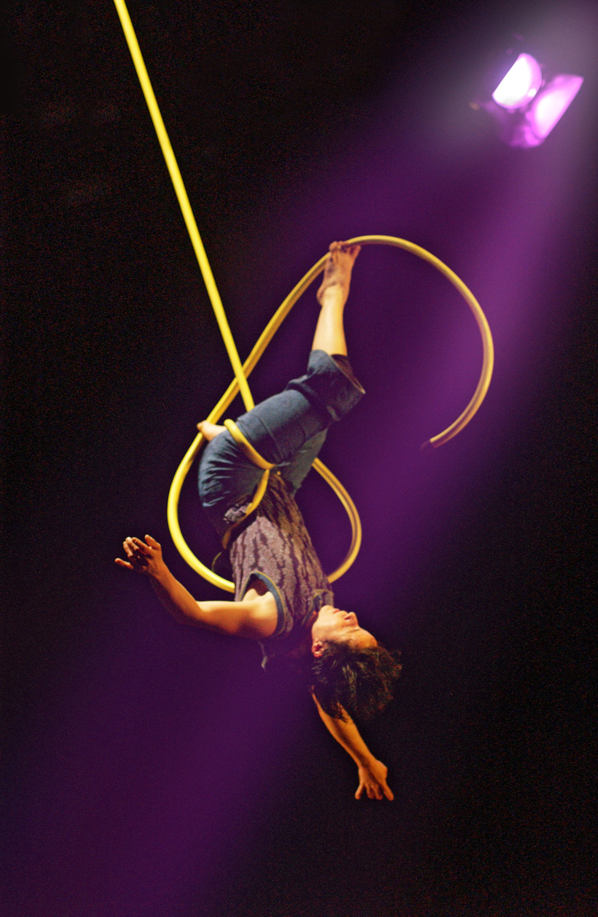"20.Photo du spectacle - ""Plic Ploc"" Jacques Peeters, Cirque Plume 2004"