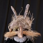 "Mask of the show - ""La dernière saison"" made by Hugues Fellot Anthony Voisin, Cirque Plume 2018"