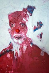 Le nez de clown | Tableau de Bernard Kudlak {JPEG}