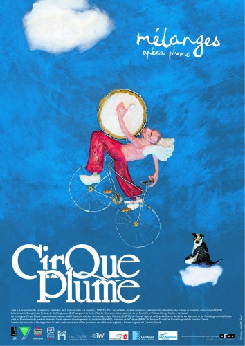 Poster of the show Mélanges (opéra plume)